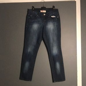 Women's Blue Skinny Jeans Pants